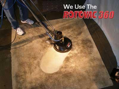 We Use The Rotovac 360